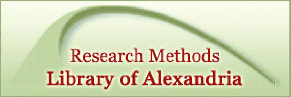 Research Methods Library of Alexandria