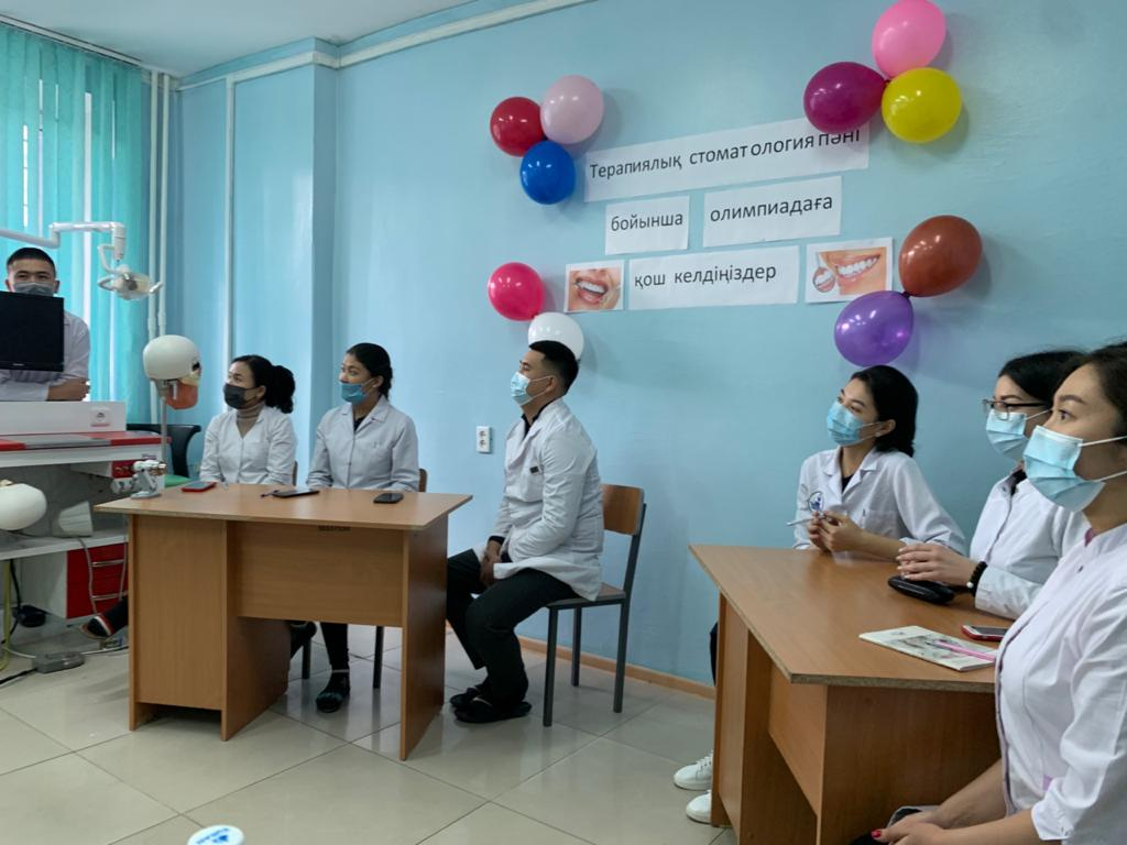 "Olympiad in ""Therapeutic Dentistry"" was organized"